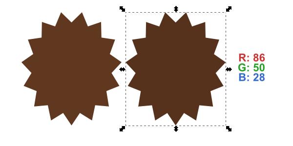 duplicate shape