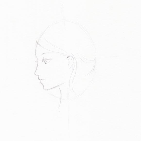 Круг с тенью рисунок карандашом