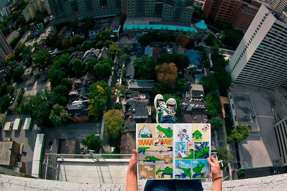 Фотография с крыш домов Quot Не смотрите вниз Quot