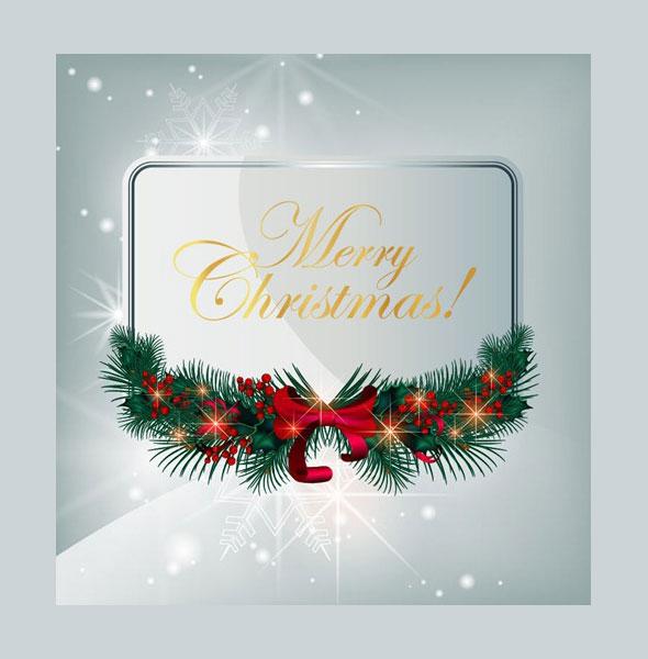 Векторные открытки с рождеством