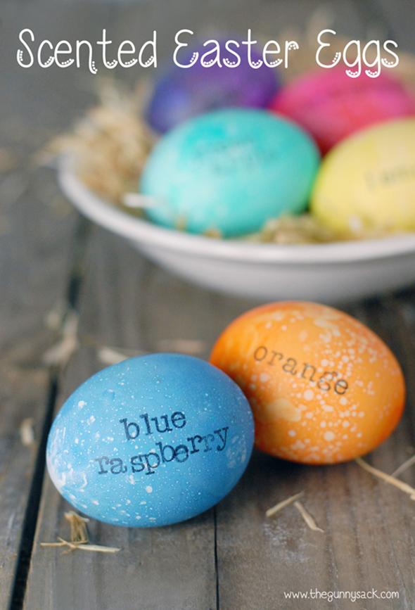 пасхальных яиц.
