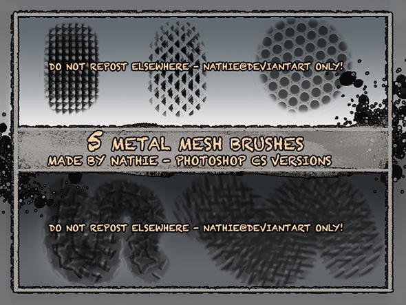 Free Photoshop Texture Brushes