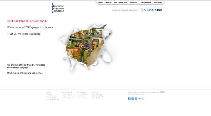 aisservice.com 404 error page