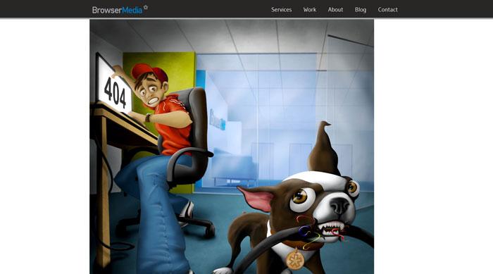 browsermedia.com 404 error page
