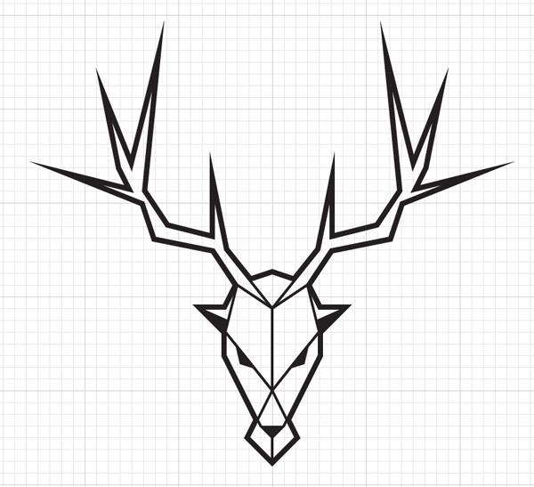 Cool Straight Line Art : Рисуем эмблемы из quot Игры престолов в adobe illustrator