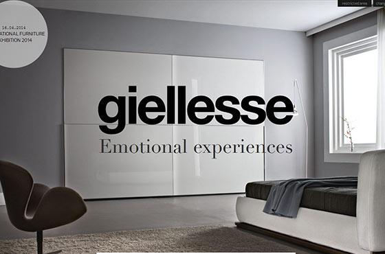 Image vs. Video Background in Web Design - Prestigious Italian Furnishing CompanyGiellesse