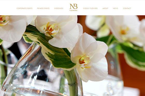 Image vs. Video Background in Web Design - Florist's Website