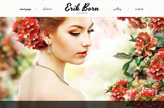 Image vs. Video Background in Web Design - Photography Portfolio Website Design