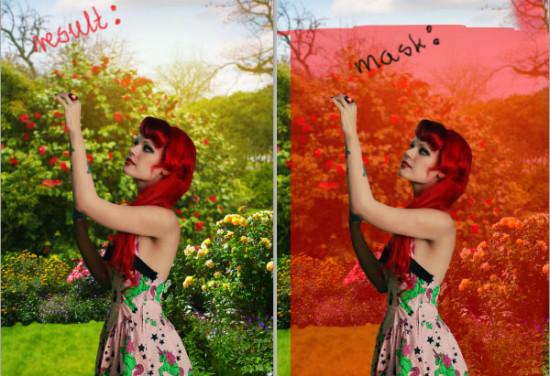 photo manip alice in wonderland 18 550x376 Create Photo Manipulation with Alice in Wonderland Theme in Photoshop