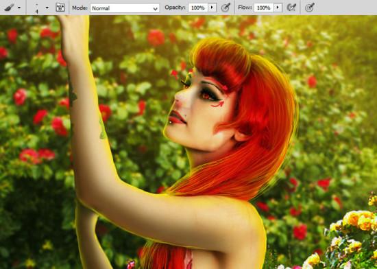 photo manip alice in wonderland 41 550x392 Create Photo Manipulation with Alice in Wonderland Theme in Photoshop