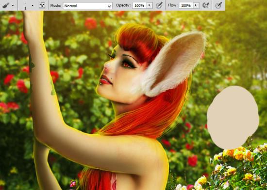photo manip alice in wonderland 46 550x392 Create Photo Manipulation with Alice in Wonderland Theme in Photoshop