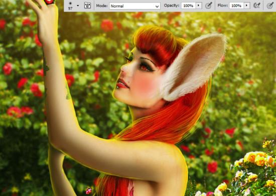 photo manip alice in wonderland 47 550x392 Create Photo Manipulation with Alice in Wonderland Theme in Photoshop