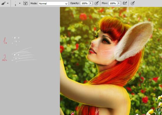 photo manip alice in wonderland 48 550x392 Create Photo Manipulation with Alice in Wonderland Theme in Photoshop
