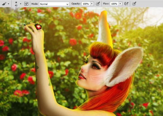 photo manip alice in wonderland 52 550x392 Create Photo Manipulation with Alice in Wonderland Theme in Photoshop