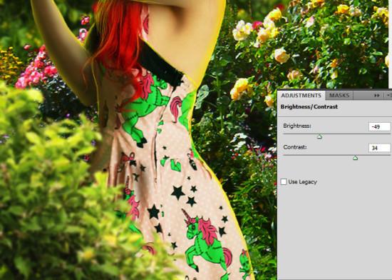 photo manip alice in wonderland 66 550x392 Create Photo Manipulation with Alice in Wonderland Theme in Photoshop