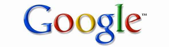 Google uses a serif logo