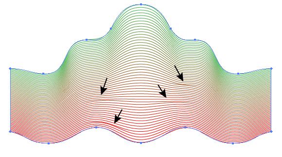 guilloche pattern vector