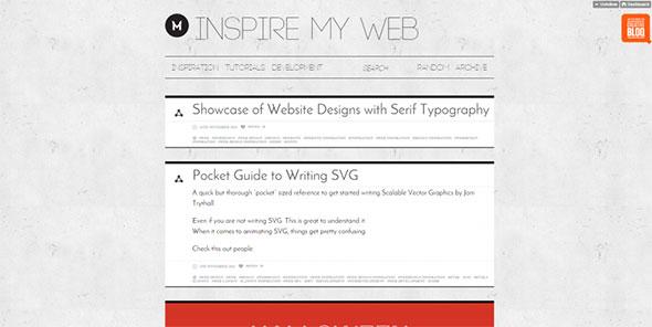 Inspire my Web