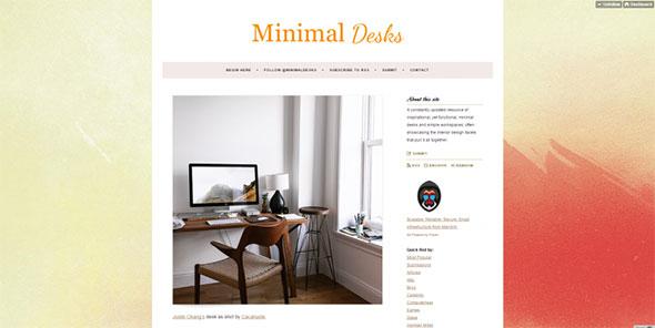Minimal Desks   Simple workspaces  interior design