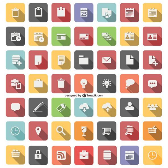 Иконки дизайнерских программ для работы