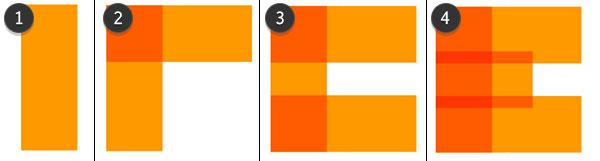 Draw the orange E