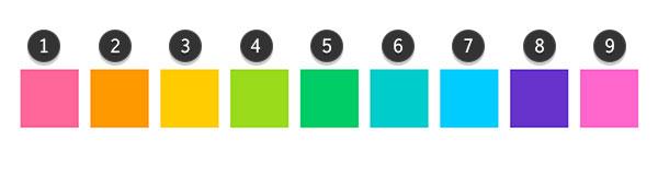 Plan your color palette