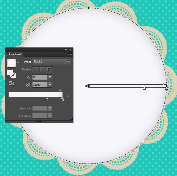 Adobe illustrator нарисовать полукруг