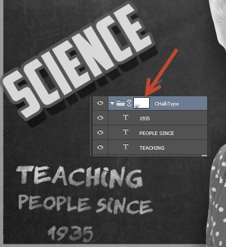 Create a Retro Chalkboard Scene in Photoshop 11