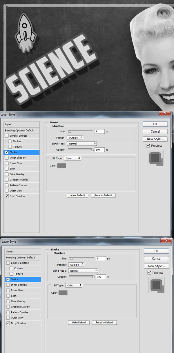 Create a Retro Chalkboard Scene in Photoshop 13