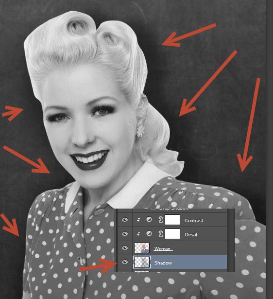 Create a Retro Chalkboard Scene in Photoshop 5