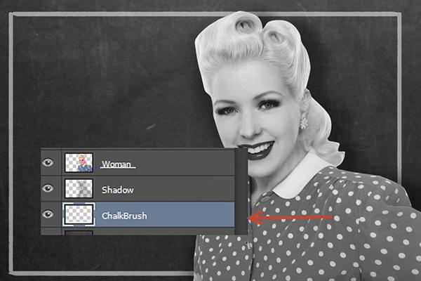 Create a Retro Chalkboard Scene in Photoshop 6