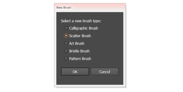 stipple Illustrator brush