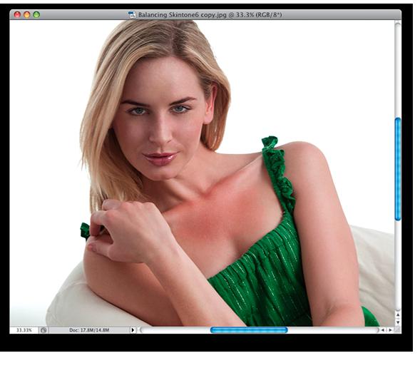 Выравнивание цвета лица в фотошопе