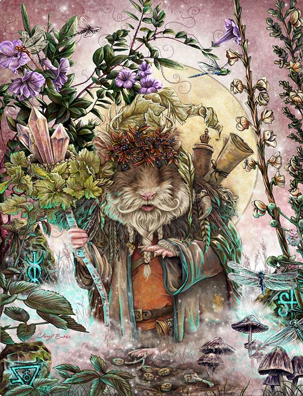 Сказочное настроение в иллюстрациях Cheryl Baker
