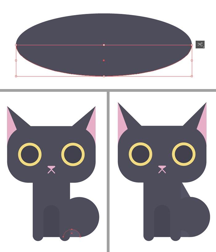 11-black-cat-character