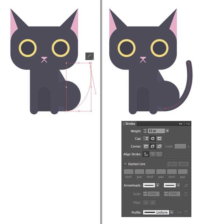 12-black-cat-character