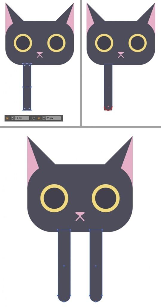 8-black-cat-character