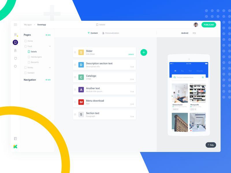 Sweetapp Inspiring Designed Admin Dashboard Layouts