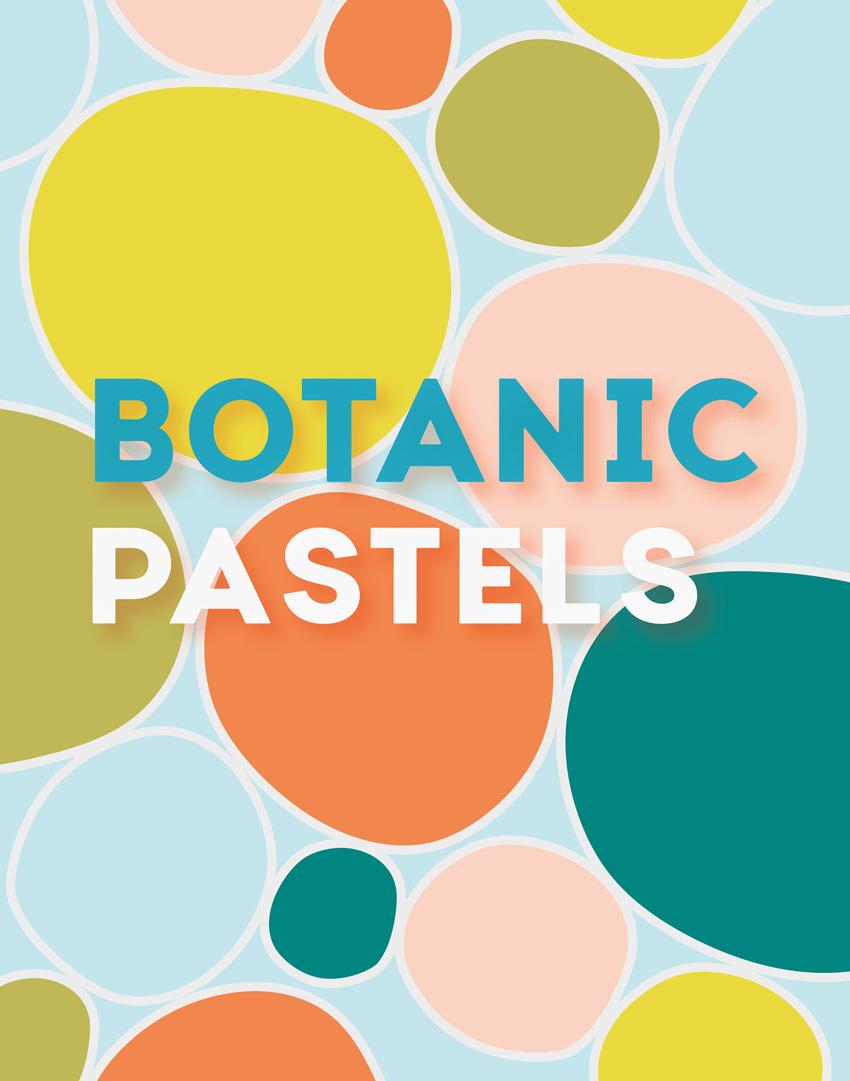 botanic pastels