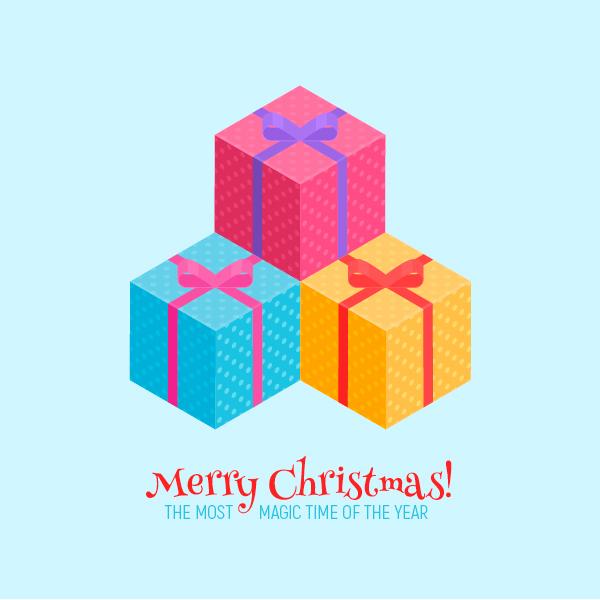 isometric christmas present final image