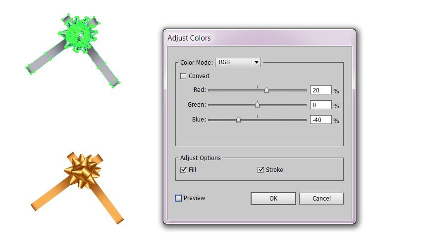 tutorial vector bow