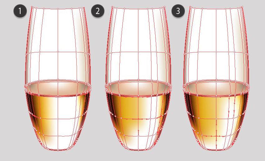 champagne glass mesh tutorial