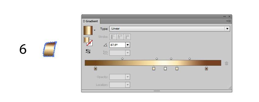 vector ribbon gradient